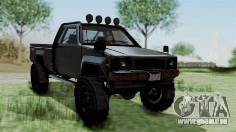 GTA 5 Karin Rebel 4x4 Worn IVF pour GTA San Andreas