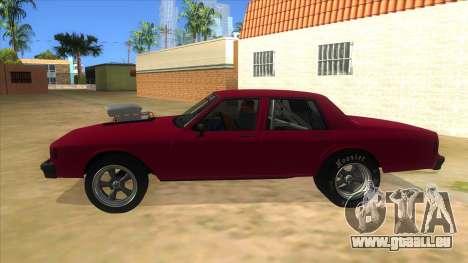 1984 Chevrolet Impala Drag pour GTA San Andreas laissé vue