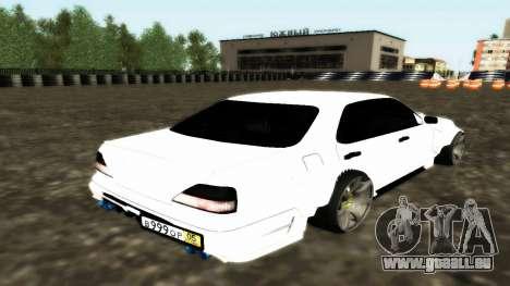 Nissan Cedric WideBody für GTA San Andreas Rückansicht