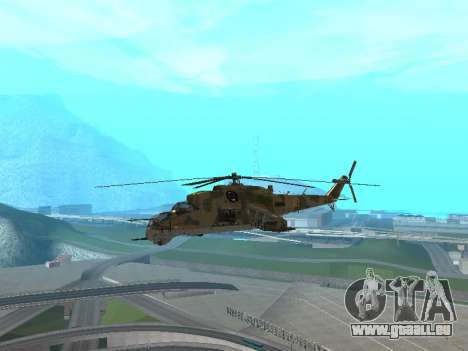 Un Mi-24 Au Crocodile pour GTA San Andreas