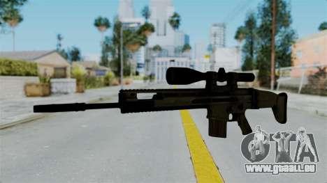SCAR-20 v1 No Supressor für GTA San Andreas