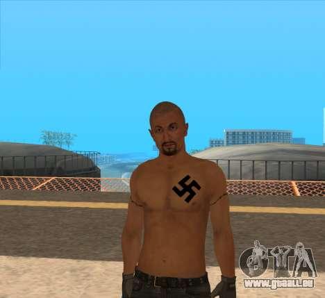 Derek Vinyard: American history X pour GTA San Andreas deuxième écran