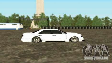 Nissan Cedric WideBody für GTA San Andreas Innenansicht