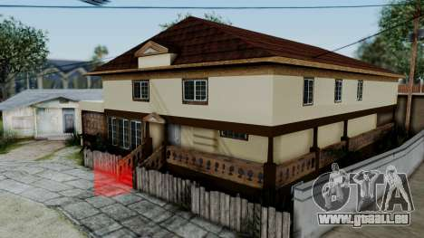 CJ House with Frame and Book für GTA San Andreas