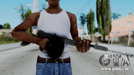 GTA 5 Gusenberg Sweeper - Misterix 4 Weapons pour GTA San Andreas troisième écran