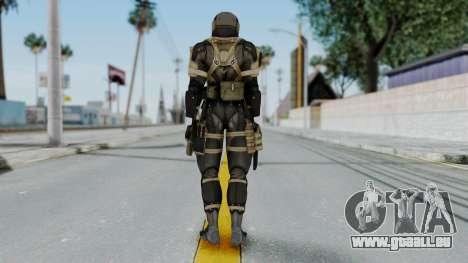 Frog from Metal Gear Solid 4 pour GTA San Andreas troisième écran