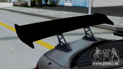 Nissan Silvia S14 Stance pour GTA San Andreas vue intérieure