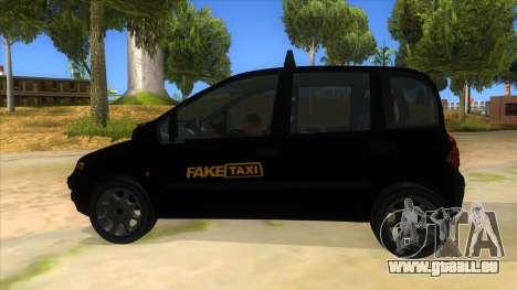 Fiat Multipla FAKETAXI pour GTA San Andreas laissé vue
