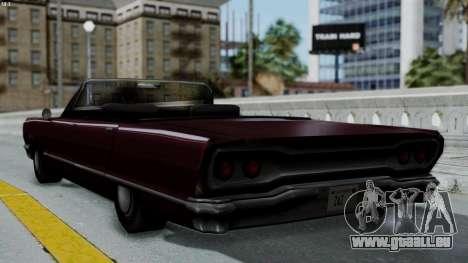Savanna Gold Digger für GTA San Andreas linke Ansicht