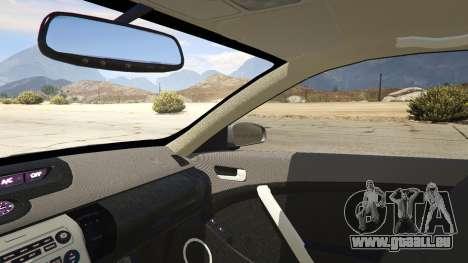 GTA 5 Infiniti G35 droite vue latérale