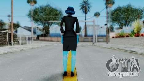 Bully Insanity Edition - Miss Danvers pour GTA San Andreas troisième écran