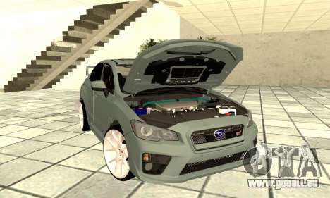 Subaru WRX STI 2015 für GTA San Andreas Rückansicht