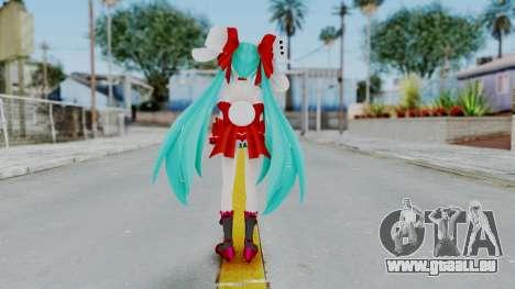 Hatsune Miku (Rabbit Girl) pour GTA San Andreas troisième écran