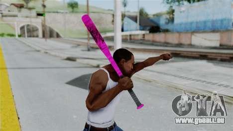 GTA 5 Baseball Bat 4 für GTA San Andreas dritten Screenshot