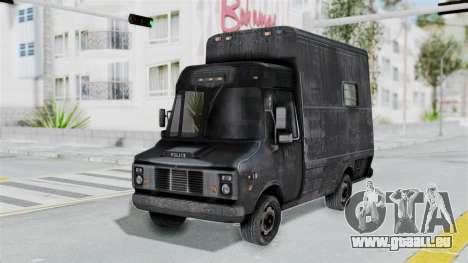 Le fourgon de la police de RE Outbreak pour GTA San Andreas