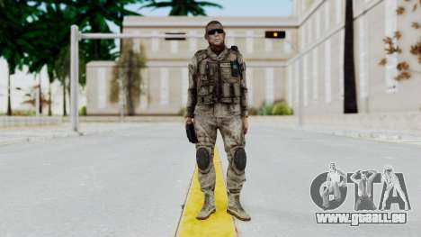 Crysis 2 US Soldier 2 Bodygroup A pour GTA San Andreas deuxième écran