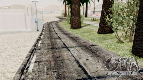 New Beach Textures für GTA San Andreas dritten Screenshot