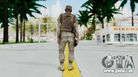 Crysis 2 US Soldier 5 Bodygroup A pour GTA San Andreas troisième écran