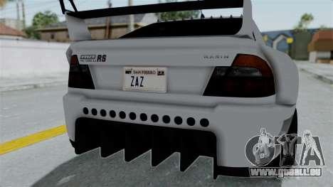 GTA 5 Karin Sultan RS Drift Double Spoiler PJ für GTA San Andreas