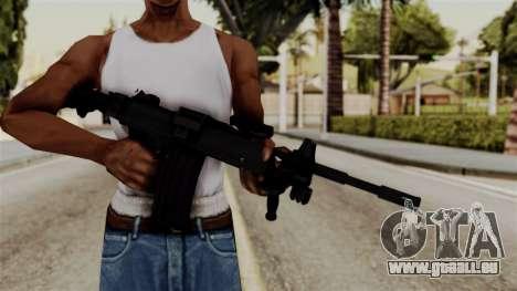 IMI Negev NG-7 pour GTA San Andreas troisième écran