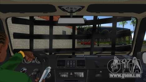 Mercedes-Benz G55 Response für GTA San Andreas Innenansicht