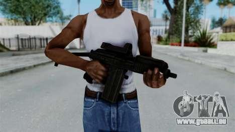 9A-91 Kobra pour GTA San Andreas troisième écran