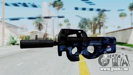 P90 Camo3 pour GTA San Andreas