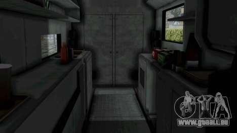 GTA 5 Tacovan pour GTA San Andreas vue de droite