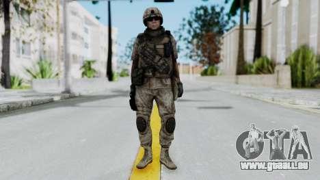 Crysis 2 US Soldier 1 Bodygroup B pour GTA San Andreas deuxième écran
