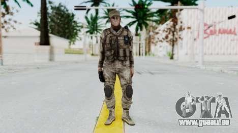 Crysis 2 US Soldier 5 Bodygroup A pour GTA San Andreas deuxième écran