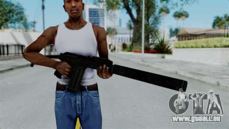 9A-91 Suppressor für GTA San Andreas dritten Screenshot