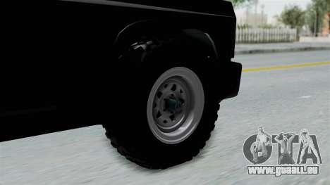 Aro 240 1996 pour GTA San Andreas sur la vue arrière gauche