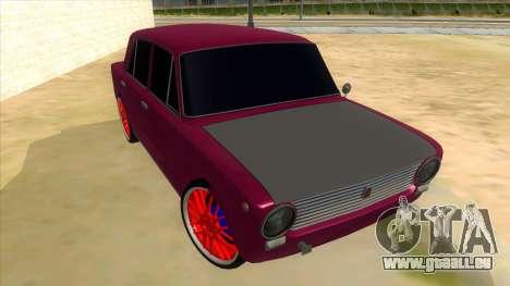 VAZ 2101 Chien pour GTA San Andreas vue arrière