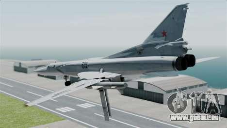 TU-22M3 pour GTA San Andreas vue de droite