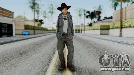 Carl Grimes from The Walking Dead für GTA San Andreas zweiten Screenshot