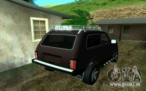 VAZ 2121 Niva Förster für GTA San Andreas linke Ansicht