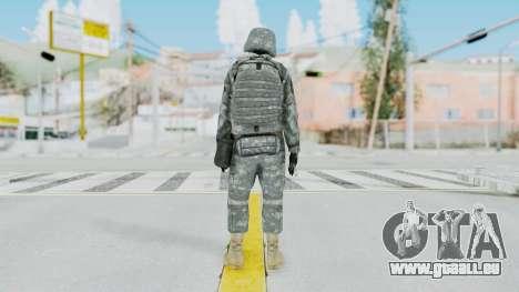 Acu Soldier 5 pour GTA San Andreas troisième écran