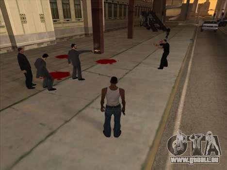 Russen in der Shopping-district v2 für GTA San Andreas her Screenshot
