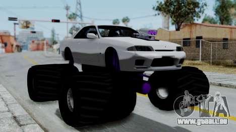 Nissan Skyline R32 Monster Truck für GTA San Andreas