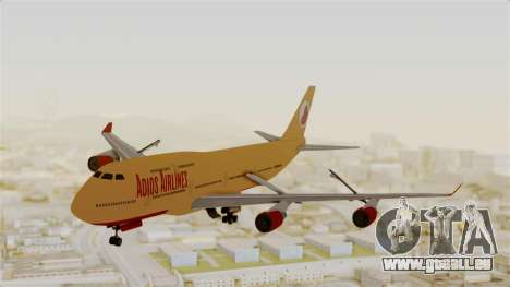 GTA 5 Jumbo Jet v1.0 Adios Airlines pour GTA San Andreas