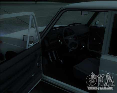 VAZ 2106 Stoke pour GTA San Andreas laissé vue