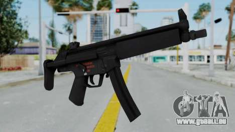 Arma AA MP5A5 pour GTA San Andreas