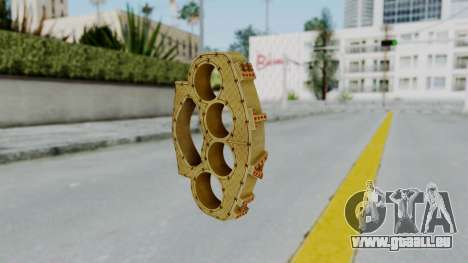 The Ballas Knuckle Dusters from Ill GG Part 2 für GTA San Andreas