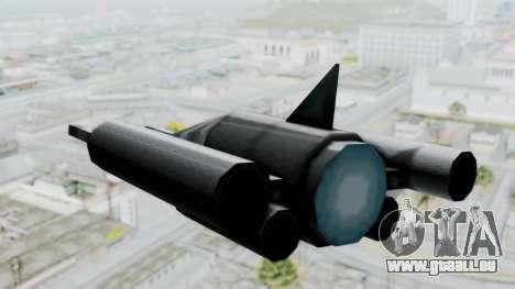 TCFU Spaceship für GTA San Andreas rechten Ansicht