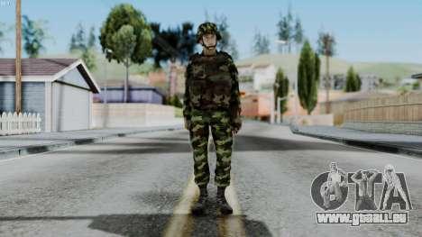 Srpski Vojnik 1999 pour GTA San Andreas deuxième écran