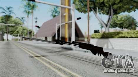 No More Room in Hell - Simonov SKS für GTA San Andreas zweiten Screenshot