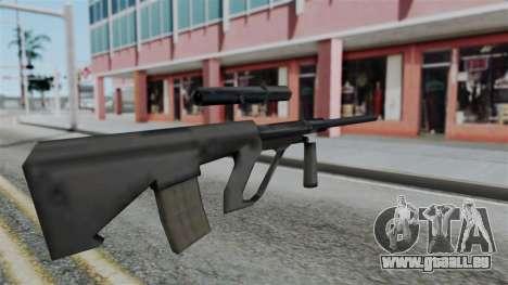 Vice City Beta Steyr Aug für GTA San Andreas zweiten Screenshot