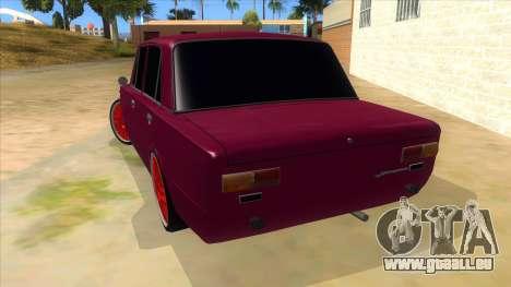 VAZ 2101 Chien pour GTA San Andreas sur la vue arrière gauche