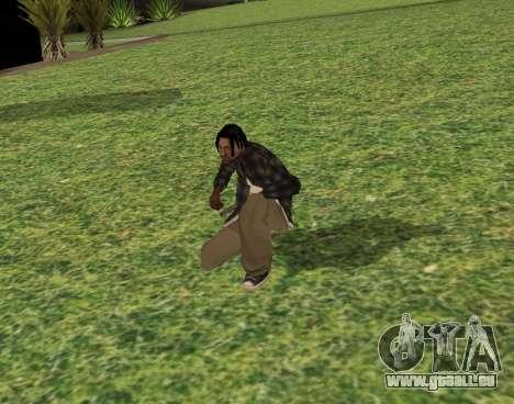 Black fam2 pour GTA San Andreas troisième écran