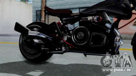 Turbike 2.0 pour GTA San Andreas vue de droite